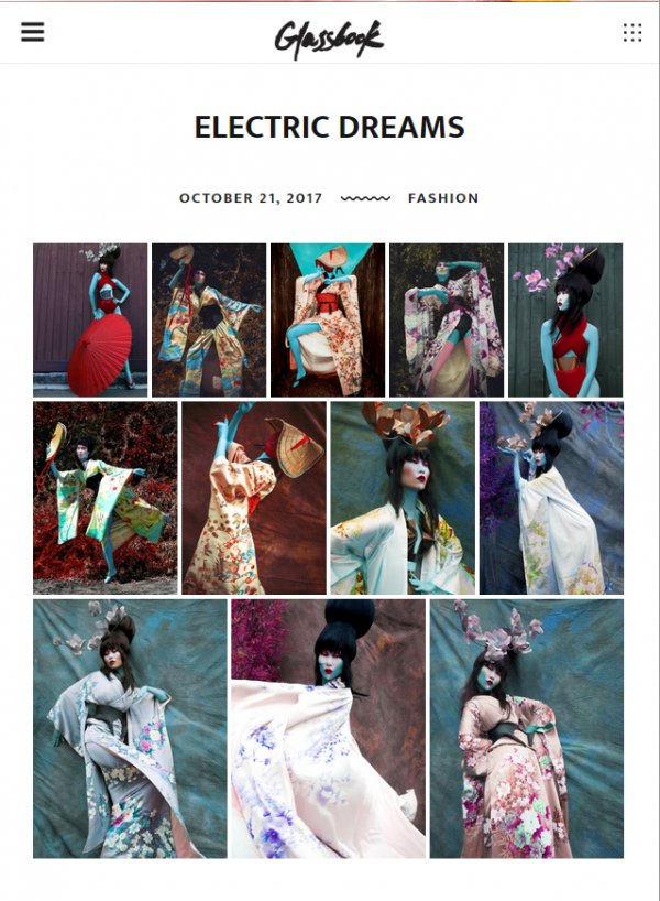 Glassbook Electric Dream